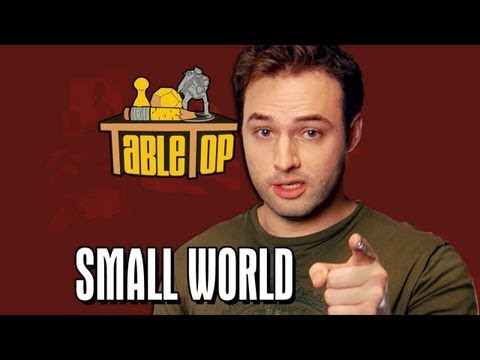 Small World: Wil Wheaton, Jenna Busch, Grant Imahara, Sean Plott. TableTop, Episode 1