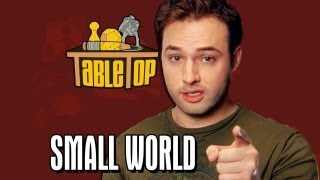 Small World: Wil Wheaton, Jenna Busch, Grant Imahara, Sean Plott. TableTop, Episode 1