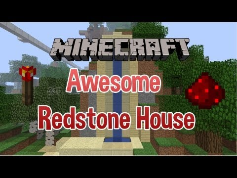 [1.4 ONLY] Minecraft-Awesome Redstone/Piston House- One of the BEST