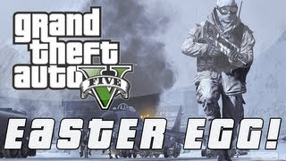 "Grand Theft Auto 5 | ""Call of Duty"" PARODY Easter Egg! (GTA V)"