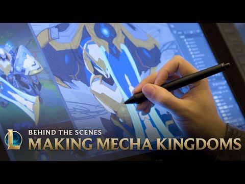 Making Mecha Kingdoms | Behind the Scenes - League of Legends