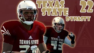 The Texas State Goat | NCAA 14 Texas State Dynasty Ep. 22 (S2)