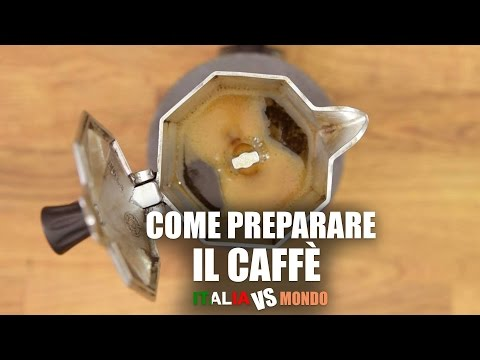 Come preparare il CAFFÉ - How to make coffee (Italia vs Mondo)
