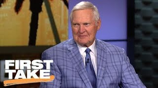Jerry West says Clippers 'made out really well' in Chris Paul trade   First Take   ESPN