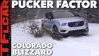 Unbelievable Result! 2019 Volvo XC40 vs Blizzard vs Gold Mine Hill Off-Road Review