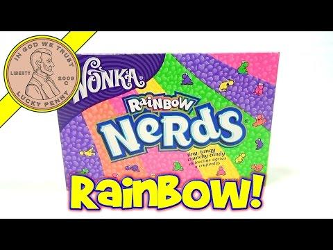 Wonka Rainbow Nerds - USA Candy Tasting