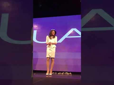 Aquaria performing as Melania Trump part 2