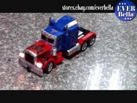 RC Transformer Truck demo playing.wmv Music Videos