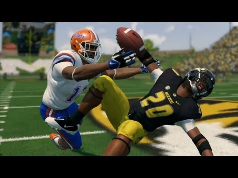 NCAA Football 14 Gameplay Trailer - Infinity Engine 2 & Running Game Physics