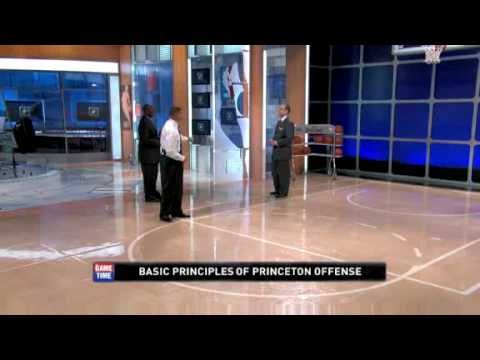 The Basic Principles of the Princeton offense - NBA Game Time