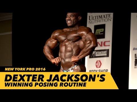 Dexter Jackson's Winning Posing Routine | New York Pro 2016