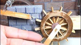 Su Pompası ile Mini Değirmen Yapımı