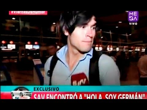 Entrevista Exclusiva a German Garmendia | Germanchelo Garmendia