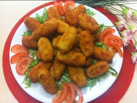Receta: Deliciosas croquetas de pollo (con bechamel)