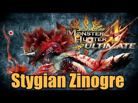 Monster Hunter 4 Ultimate - Stygian Zinogre
