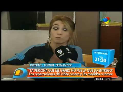 """Cinthia Fernández: """"Esto le toca el ego de hombre"""""""