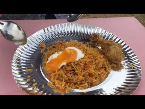 Perfect Poached Eggs With Chicken Biryani