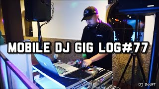 "MOBILE DJ GIG LOG#77 BAPTISM PARTY ""MONOGRAM"" WHITTIER CA PHOTO BOOTH"