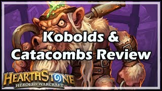 [Hearthstone] Kobolds & Catacombs Review