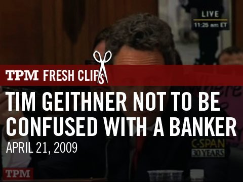 timothy geithner signature. Tim Geithner Not to Be
