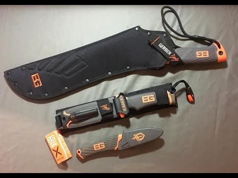 Bear Grylls Gerber Gear and Knife Review