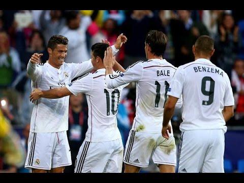 Real Madrid 2-0 Sevilla UEFA Super Cup Cristiano Ronaldo Goals!!!!