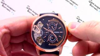 Часы Fossil ME1138 - Видео обзор от PresidentWatches.Ru