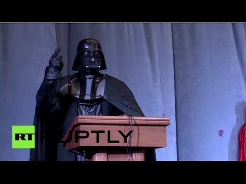 Dark Side Candidate: Darth Vader announces bid for Ukrainian presidency