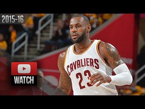 LeBron James Full Highlights vs Hawks 2016 ECSF G1 - 25 Pts, 9 Ast, SICK!