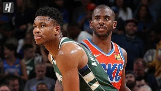 Milwaukee Bucks vs Oklahoma City Thunder - Full Highlights | November 10, 2019 | 2019-20 NBA Season