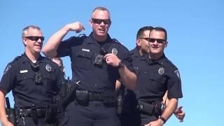 Meridian Police accept the #LipSyncChallenge