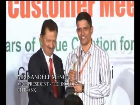Newgen Customer Meet 2012 Mumbai - CitiBank Felicitation for Continued Association