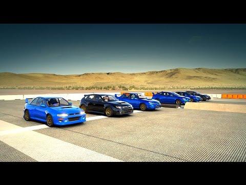 Forza 6: World's Greatest Drag Race! Fastest Subaru WRX STI All in One Race