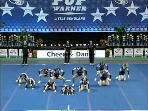 the west valley falcons pop warner cheerleading at nationals 2007 5th place!