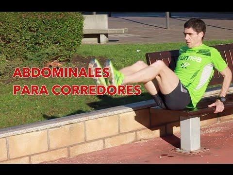 Entrenamiento de abdominales para corredores