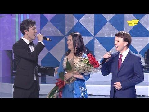 Димаш Кудайбергенов с родителями Асыл анашым  г. Астана 25.04.2017