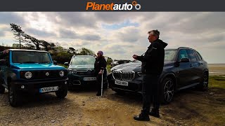 4x4 Comfort Challenge New Jimny X5 M Sport  C5 Aircross | Does Not Go to Plan
