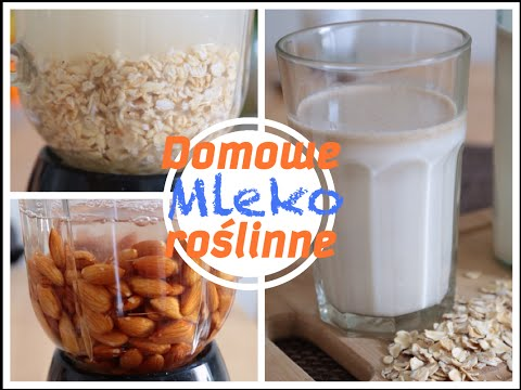 Jak Zrobić Domowe Mleko Roślinne  Owsiane I Migdałowe