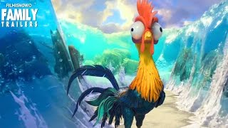 MOANA | Funniest Hei Hei moments from the Disney Animated Movie
