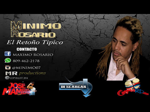 Minimo Rosario 'Esta Noche Me Emborracho' DESCARGA @CongueroRD @JoseMambo