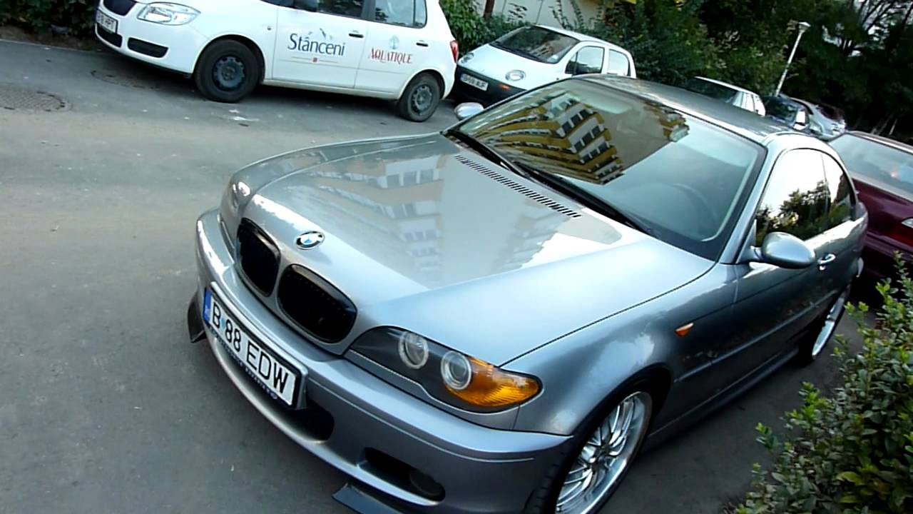 Bmw E46 Coupe Facelift Edw Youtube