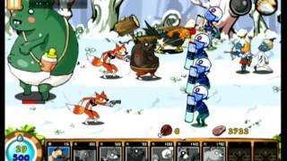 [iPhone game]Nine Heroes : Zombie Invasion play video