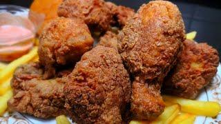 KFC चिकन भूल जायेंगे अगर बनायेंगे यह Crispy Fried Chickenआसानी से घर पर   Spicy Chicken Broast