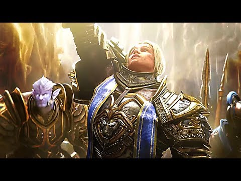 WORLD OF WARCRAFT : Battle For Azeroth Trailer (2018)