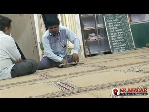 Tum Ko Asgar as Kya Khabar Teer E Sitam Khane Ke Bad Nohay By Anwar Barely Nohay 1440 Sarkhej Masjid