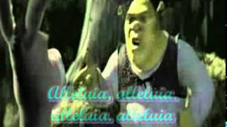 ALLELUIA SHREK - LYRICS