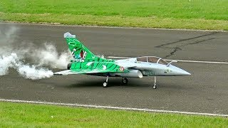 RAFALE GIANT RC SCALE MODEL TURBINE JET FLIGHT DEMONSTRATION