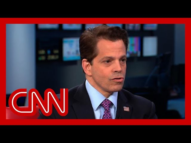 Anthony Scaramucci likens Donald Trump support to a cult thumbnail
