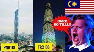 7 Bangunan TERTINGGI di Malaysia pada masa hadapan! 😱