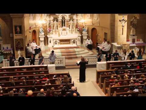 Lumen Christi Catholic School Advent Lessons & Carols. 2013 - 12/13/2013
